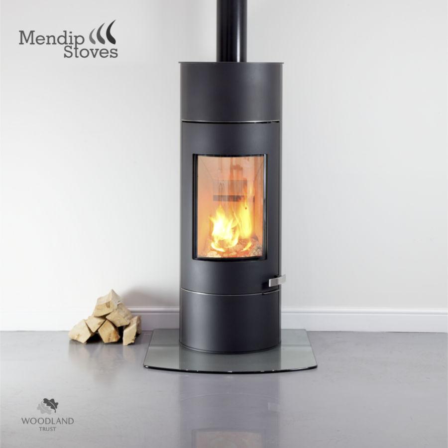 Somerton II SE Tall | Mendip Stoves - Wood Burning Stoves