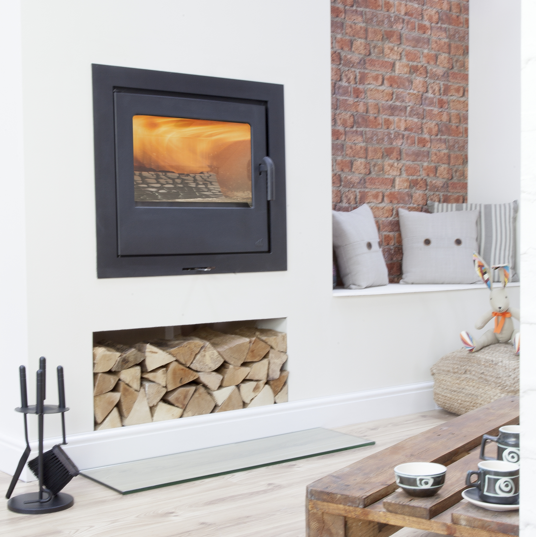 loxton 10 inset mendip stoves wood burning stoves