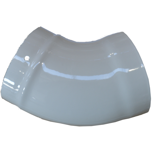 Picture of Glossy Enamel Flue Pipe   150mm⌀  45° Elbow